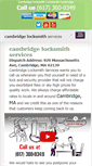 Mobile Preview of cambridgelocksmiths.net